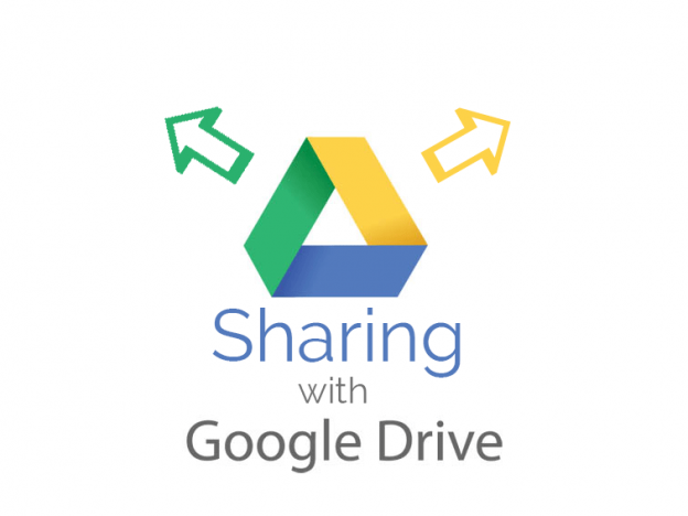 How to share files with Google drive